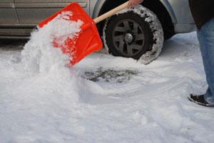 Łopata śniegowa od Kwazar